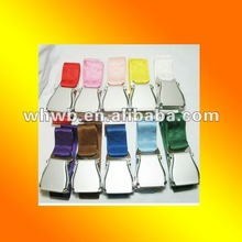 colorful seat belt, black/grey/beige/gray/red/blue/green/pink/purple/yellow/orange