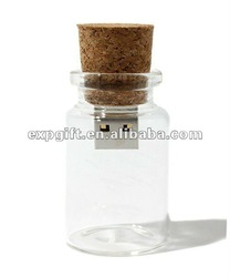 glass bottle usb flash drive