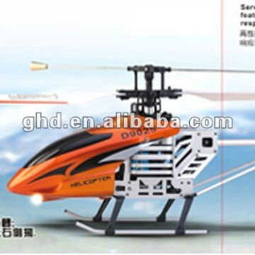 D9025 2.4G remote control 4CH Single blade R/C Helicopter with Gyro toys