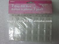 7 days mini pill box