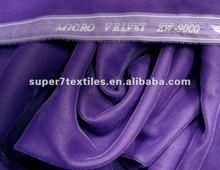 micro velvet plain dyed model 9000
