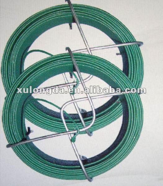 alambre recubierto de plástico