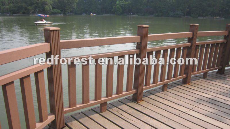 Barandillas para fuera otros suministros para jardines for Barandillas de madera para jardin