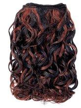 Kanekalon French wave Piano Color Synthetic hair weaving