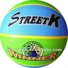 Colorful basketball / sport balls / basketball seller(RB016)