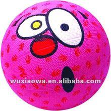 Mini basketball / mini rubber basketball / kids toy(MINI009)