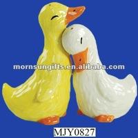 Magnetic Ducks Salt and Pepper Shaker Set