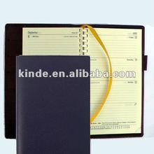 Custom Leather Diary 2012