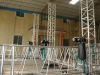 perfect design folding stage roof truss systems