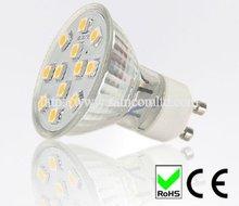 2012 Hot sale 2W 12 5050SMD led gu10 light