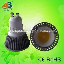 Hottest led design gu10 COB 3W 2012