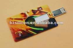 Popular promotional business card usb memory drive