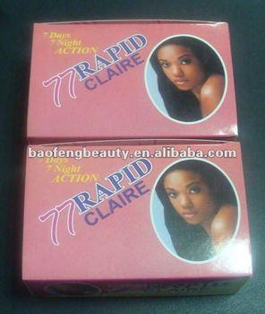 77 rapid claire cream