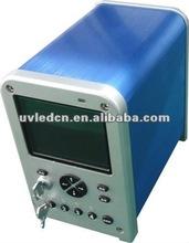 UV LED curing system for PLC adjust