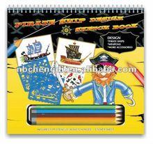 pirate ship design sketch portfolio kit