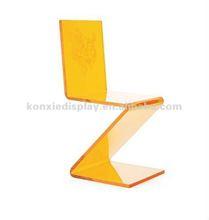 Acrylic crystal chair