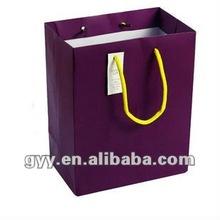 2012 GYY solid color paper bag
