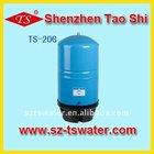 Water storage Tank 20G/20gal Reverse Osmosis water tank/ Metal pressure tank