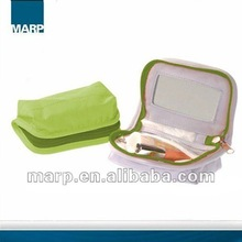 Lady's Cosmetic Bag With Mirror