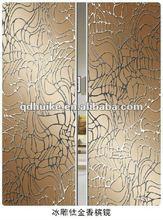home decorative glass door/colored mirror/glass sliding door/TJ/CJ/BD-sishuiliunian