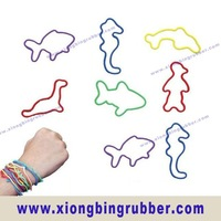 Animal silicone rubber band