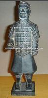 the Clay burned terra-cotta warriors
