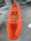 Polythylene canoe Kayak , rotational moulding kayak with LLDPE,Canoe
