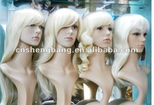 in stock good quality blonde wig hollewood wig synthetic wig