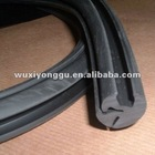 Car window rubber seal