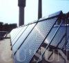 manifold heat pipe vacuum tube solar water heater project
