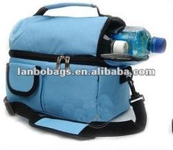 polyester wine trolley cooler bag,cooler backpack with shoulder strap