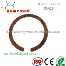 In-027 con incrustaciones de madera boca Rosette belleza acústica de la guitarra