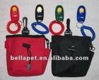 Black Red Blue Small Dog Training Treat Bag