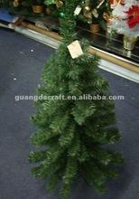 90cm 90T green traditional mini table christmas tree