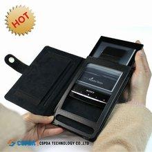 Genuine Leather Case for Sony Reader PRS-T1 eReader