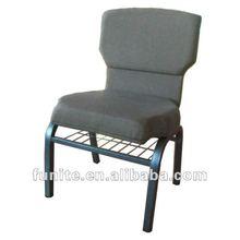 2012 new design fabric church chair ,cheap price church chair ,stack church chair