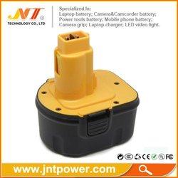 12V Power Tool Battery for DEWALT DE9074 DE9075 DE9501 DW9071 Ni-MH battery 3000mAh