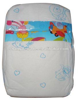 Disposable sleepy baby diaper