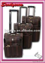 2012 new eminent PU trolley luggage