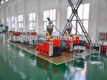 Maquina de extrusion para producir tuberias de PVC