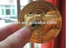 2012 metal coin YL-CN226