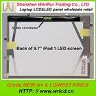 9.7'' 1024*768 FOR IPAD1 LP097X02(SL)(A8) IPAD 2 9.7'' Screen display Original NEW A+
