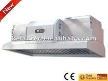 Restaurante cocina ventilación sistema con capucha estilo filtro de aire