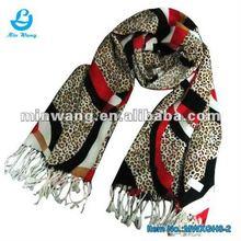 Newest Fashion Leopards Shawls And Scarves Pashmina