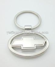 Metal Chevrolet Car Mark Shape Keyrings