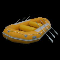 Popular cool inflatable surfing boat, river boat
