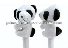 2012 new type cheap and lovely panda plush stuffed ballpoint pen