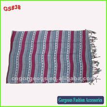 2012 new fashion design viscose scarf