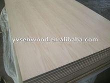 red oak natural wood veneer faced mdf for furniture making