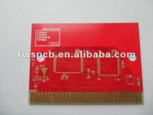 Signal board red oil/fr4 copper clad laminate